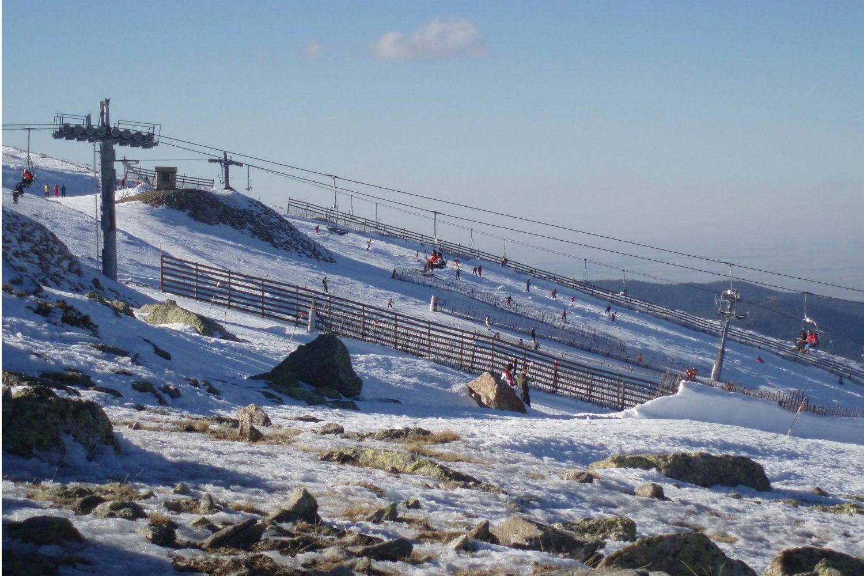 puerto de cotos nieve