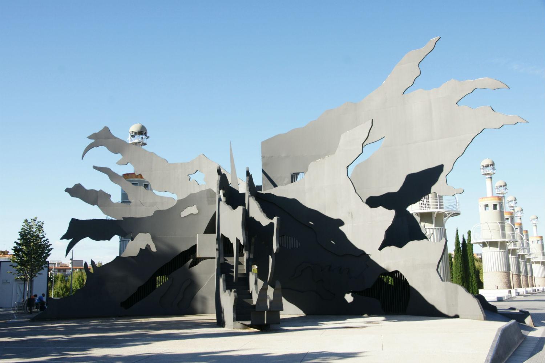 Parc de l'Espanya Industrial toboganes