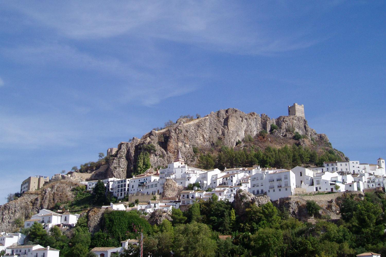 Pueblos con cuestas Zahara de la Sierra
