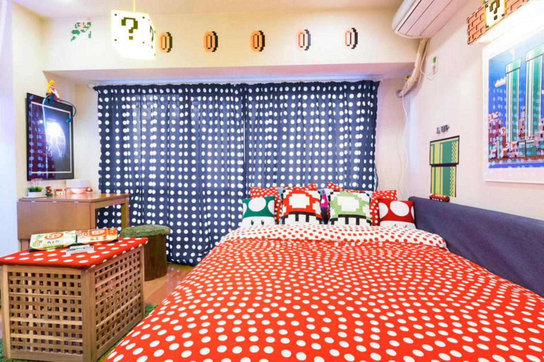 Dormir en casa Mario Bros