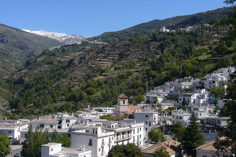Pueblos con cuestas Alpujarra