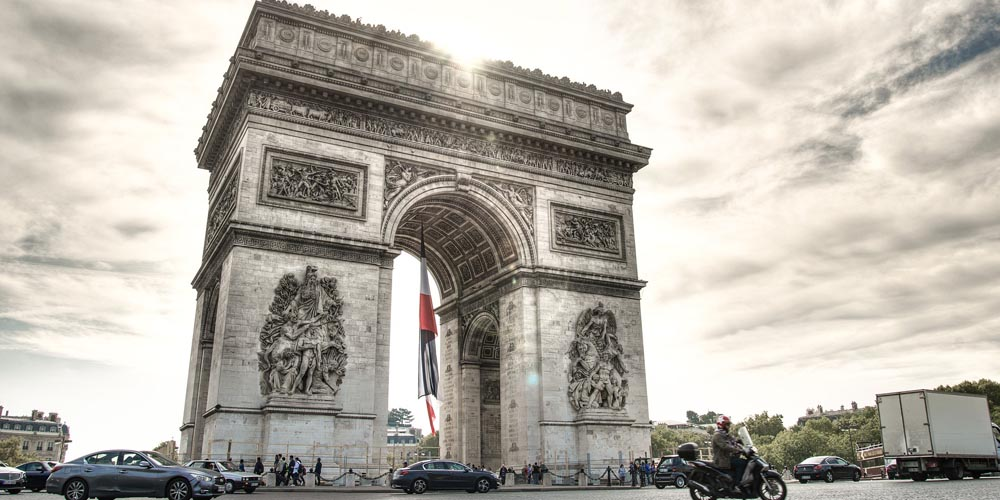 París en dos días - Arco del Triunfo