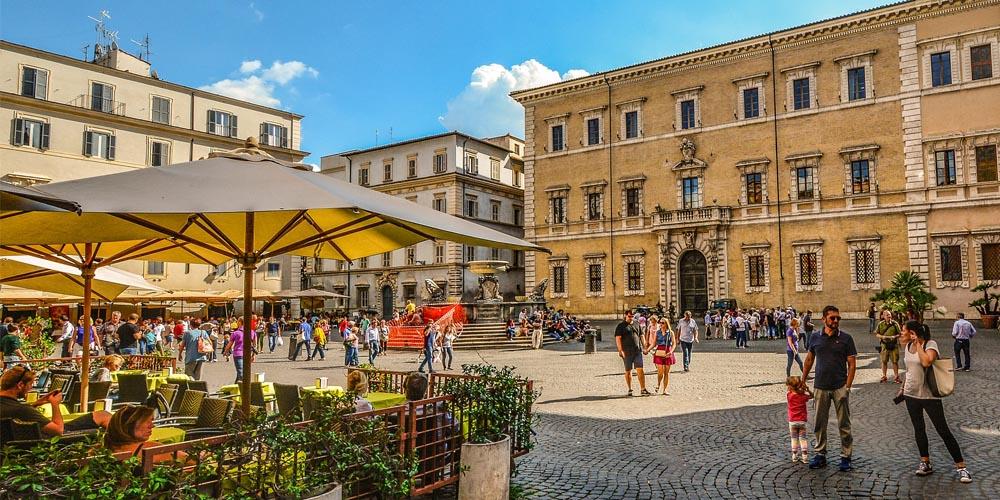 El Barrio del Trastévere - Roma