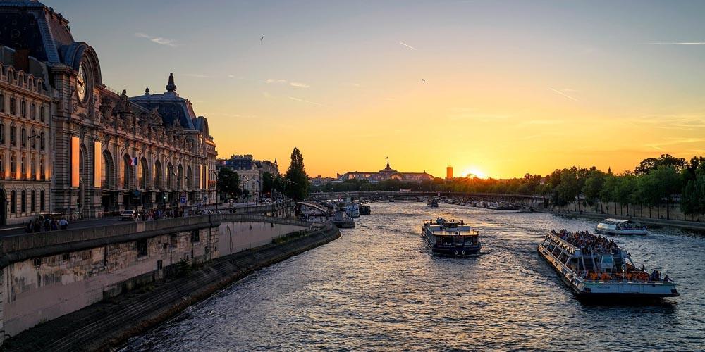 París en dos días - Crucero por el Sena