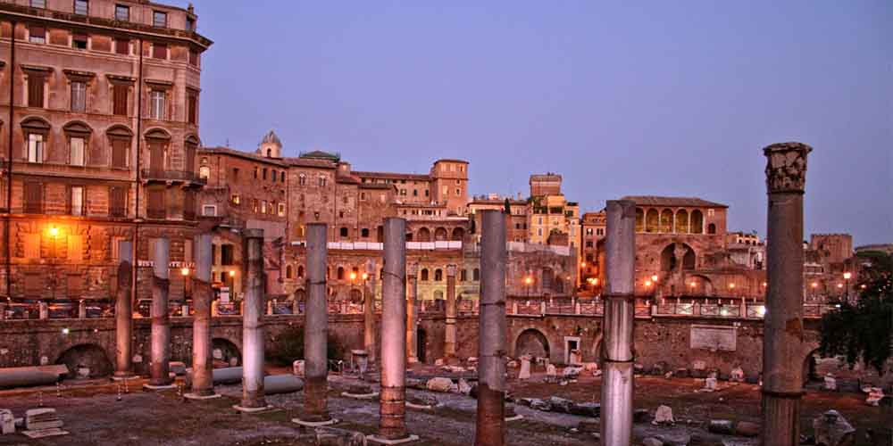 Coliseo Romano, Foro y Palatino