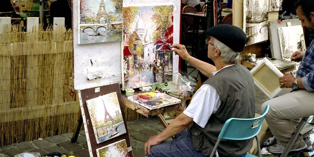 Montmartre - El barrio de los pintores París