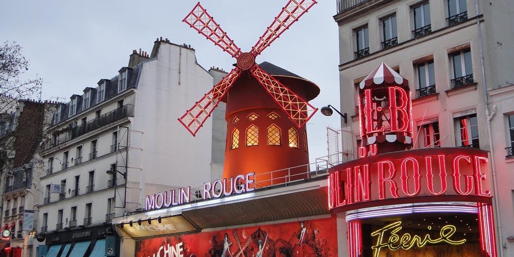 París en dos días - Moulin Rouge