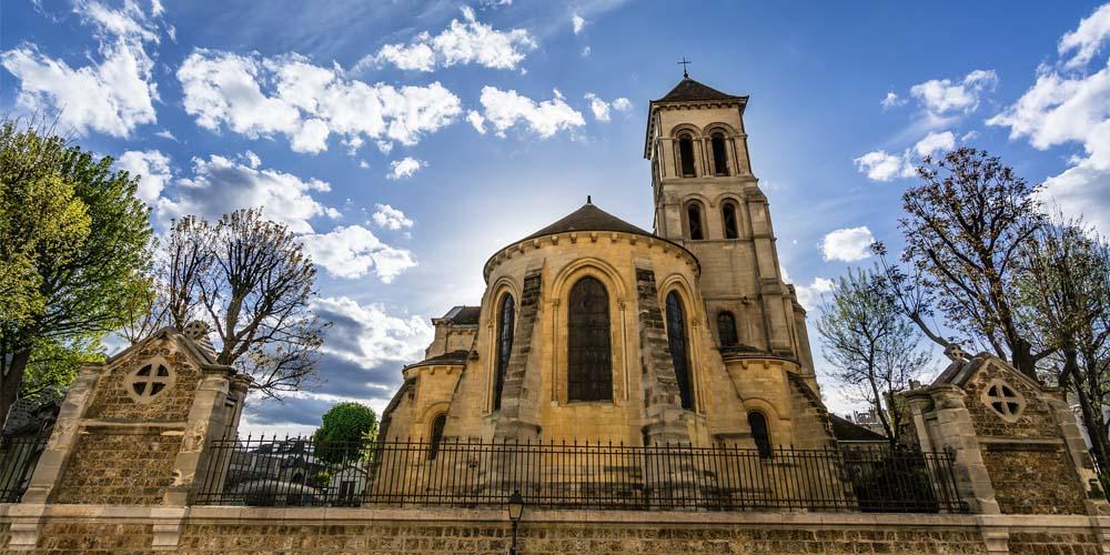 Montmartre - Iglesia San Pierre París