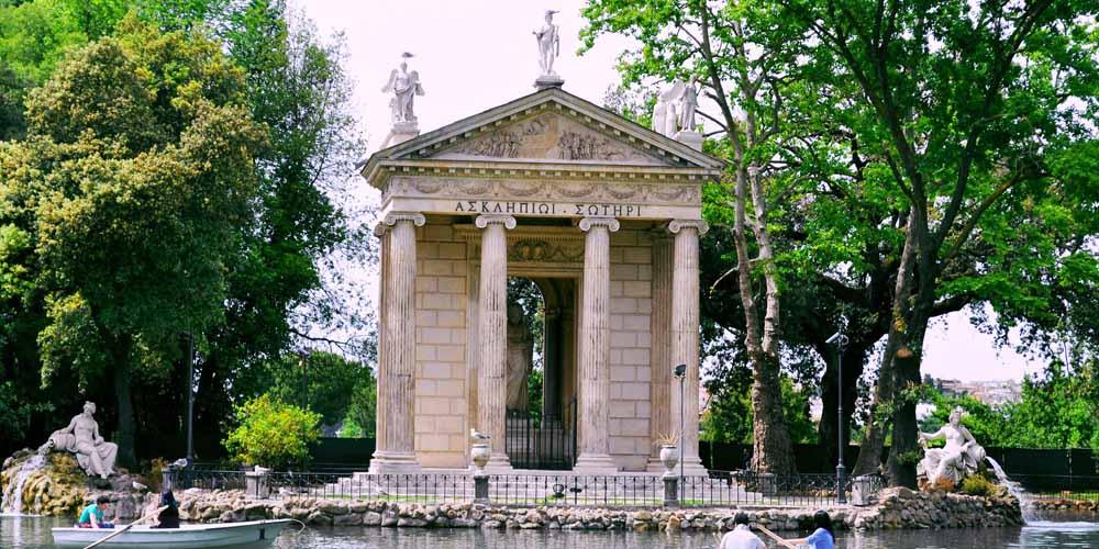 Roma en dos días - Villa Borghese