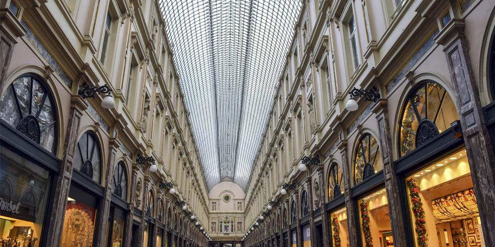 Qué ver en Bruselas - Galería Saint-Hubert