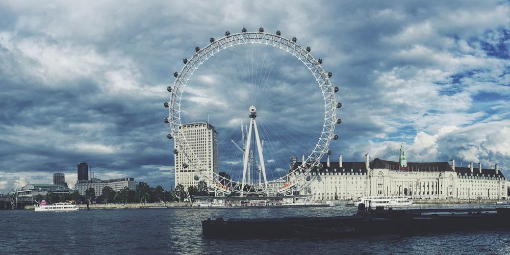 Lo más espectacular del London Eye son las vistas que se obtienen de la ciudad.