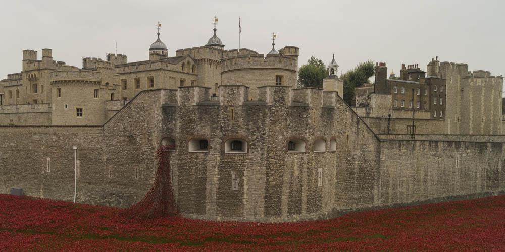 La ciudadela y su muralla representan la historia más antigua de Gran Bretaña.