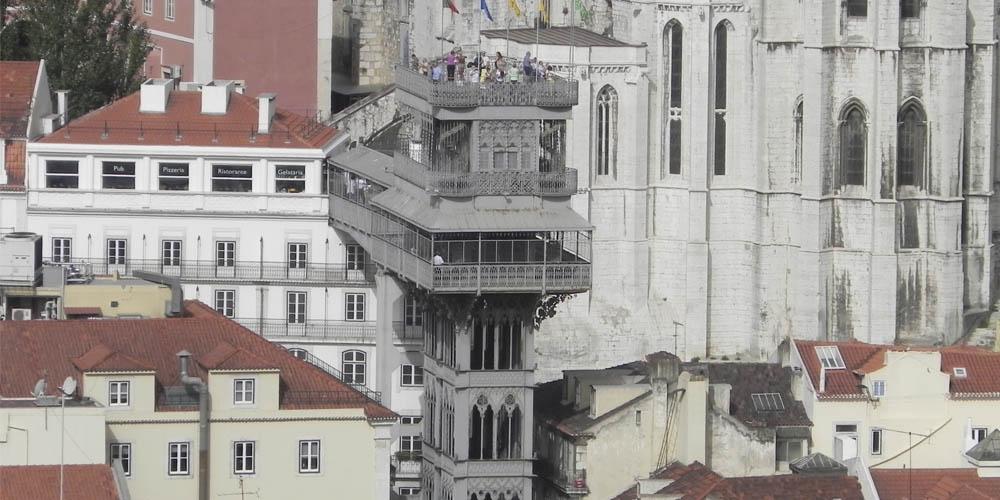 Qué ver en Lisboa - Elevador de Santa Justa