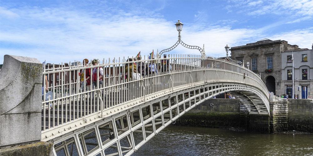 Ha'penny Bridge Dublín
