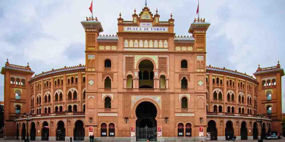 La Plaza de Toros de Las Ventas, edificio histórico que visitar en Madrid.
