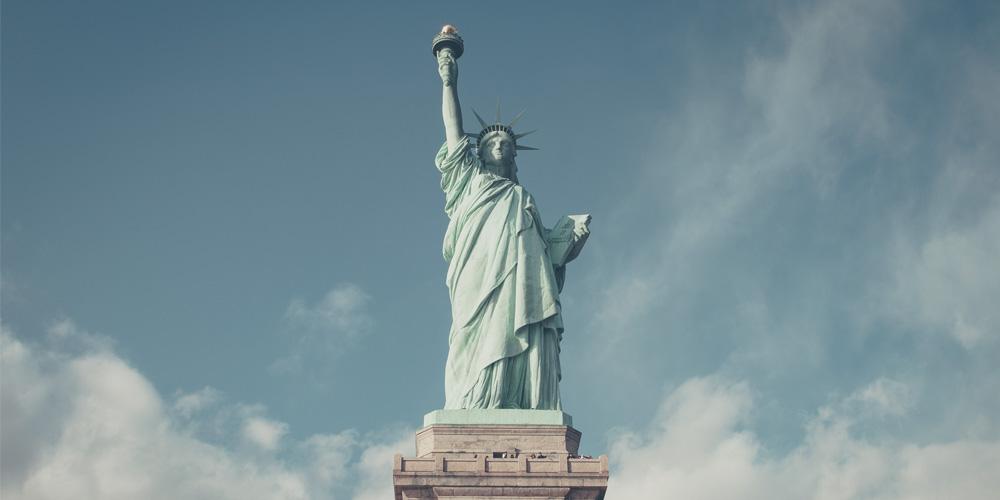 Ruta pasando por la Estatua de la Libertad del itinerario de 5 días por Nueva York