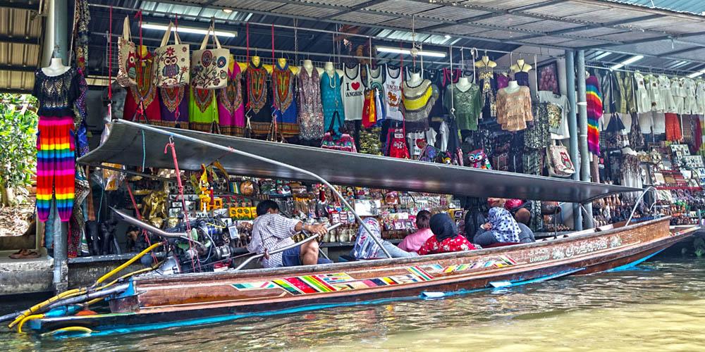 Qué ver en Bangkok: Mercados flotantes