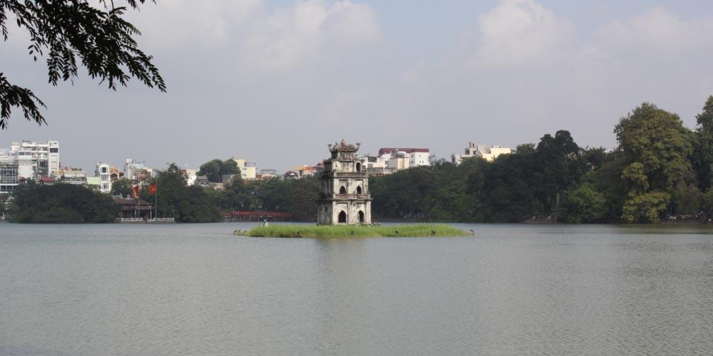 Qué ver en Hanoi: Lago Hoan Kiem