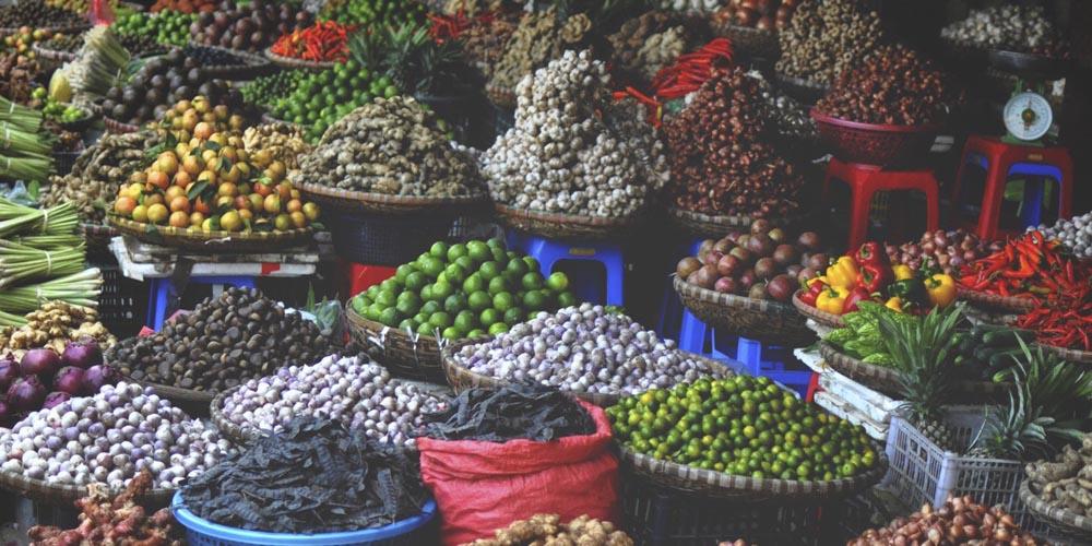 Qué ver en Hanoi: Mercado Don Xuan