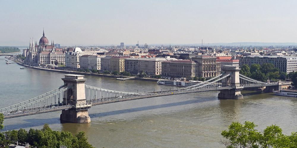 Qué ver en Budapest: Puente de las Cadenas