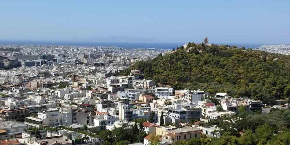 El monte Licabeto es el punto más alto desde el que ver Atenas.