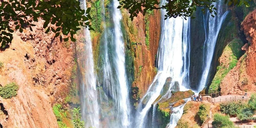 Qué visitar en Marruecos- las cascadas de Ouzoud