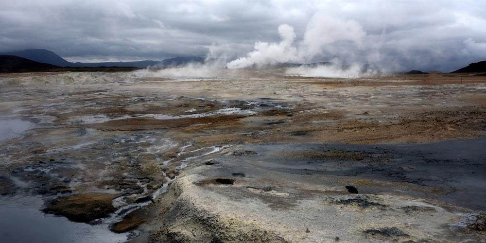 Viajar a Islandia: Los baños termales de Hverir