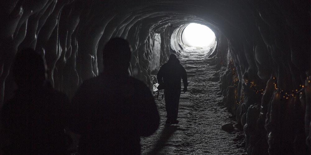 Viajar a Islandia: Túnel de hielo de Langjökull