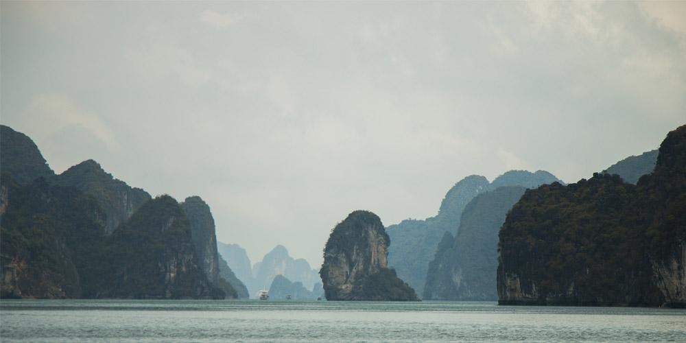Viajar a Vietnam: Bahía de Halong