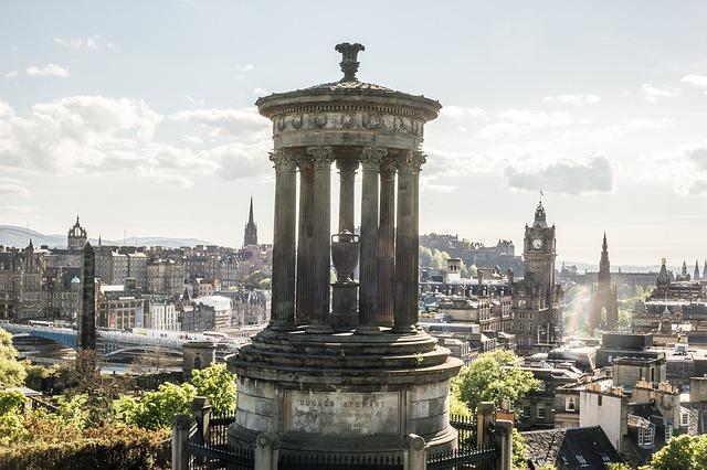Que ver en Edimburgo: Calton Hill y Monumento a Dugal Stewart
