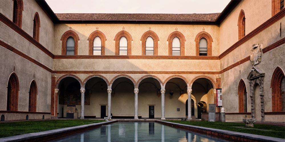 Qué ver en Milán: Castillo Sforzesco
