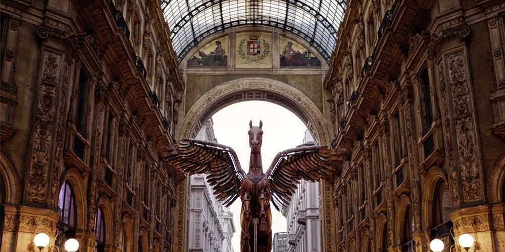 Qué ver en Milán: Galleria Vittorio Emanuelle