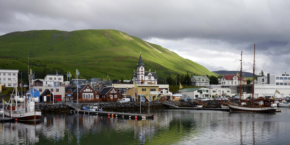 Viajar a Islandia: Avistamiento de ballenas desde Husavik
