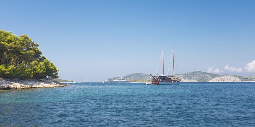 Viajar a Croacia: Playas de las islas Pakleni