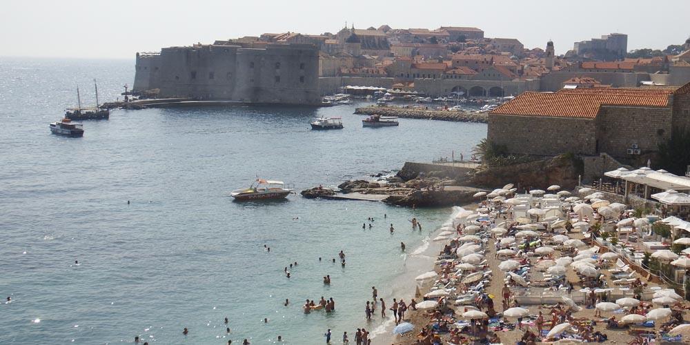 Viaja a Croacia: Playa de Banje en Dubrovnik