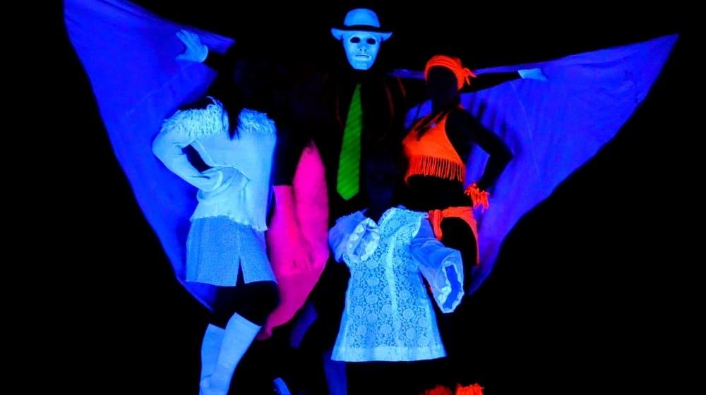Qué hacer en Praga - ver una obra de teatro negro