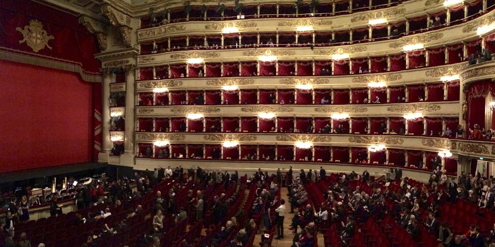Qué ver en Milán: Teatro Scala