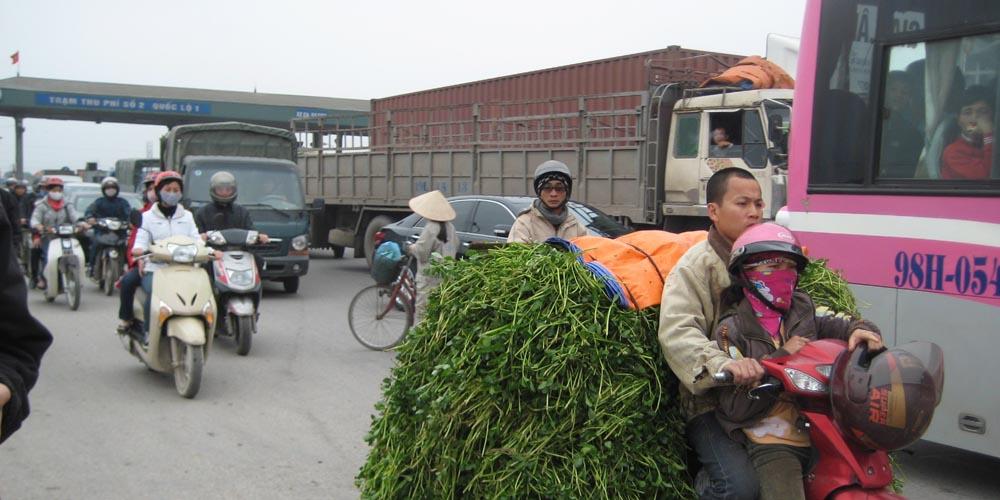 Viajar a Vietnam: Moverse en coche