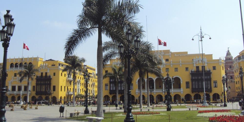 Viajar a Perú: centro histórico de Lima
