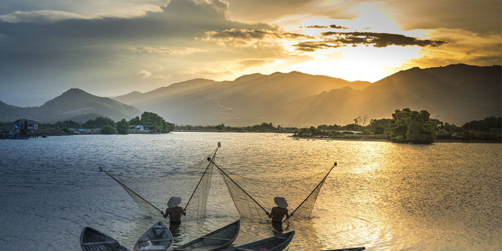 Viajar a Camboya: río Mekong