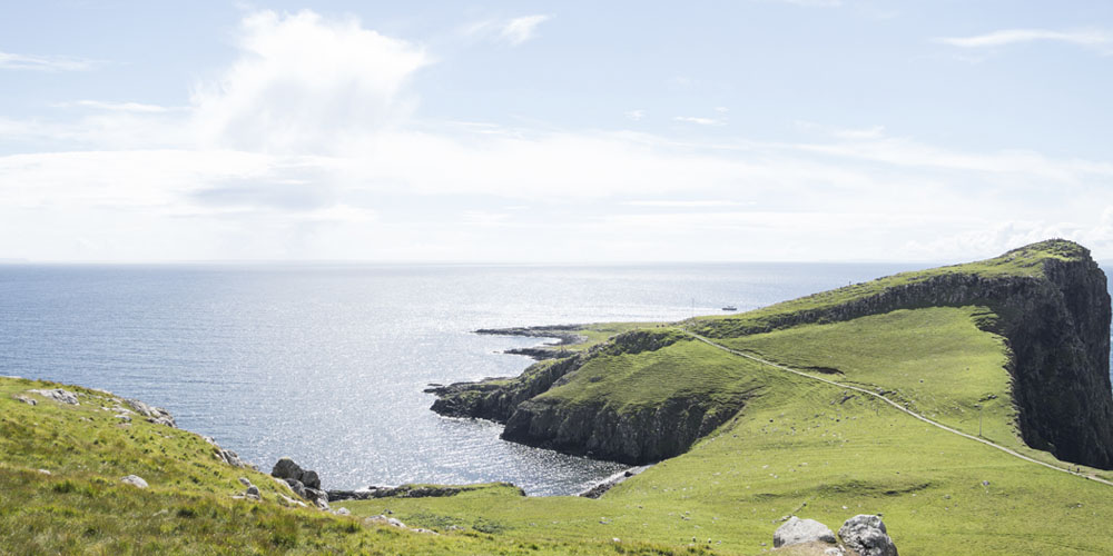 Visitar la isla de Skye en verano