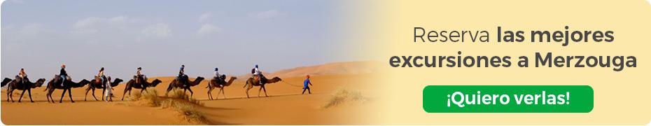 Reserva las mejores excursiones a Merzouga