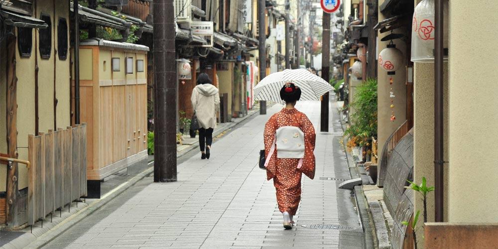 Excursión a Kioto desde Tokio: Geishas de Miyagawacho
