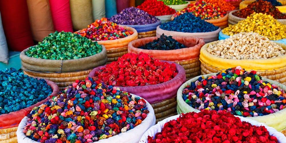 La Medina de Marrakech: Olores, colores y sabores
