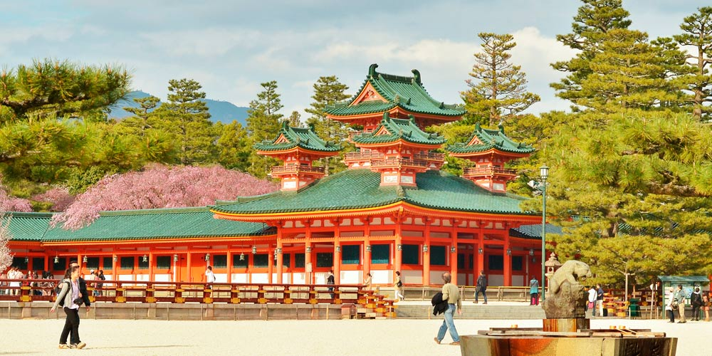 Excursión a Kioto desde Tokio: Heian Jingu