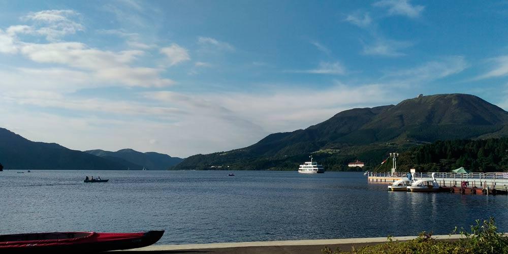 Visitar el Monte Fuji: Lago Ashi