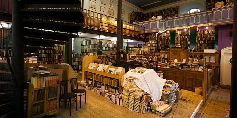 Qué ver en los alrededores del Lago Ness: Librería Leakey's Bookshop