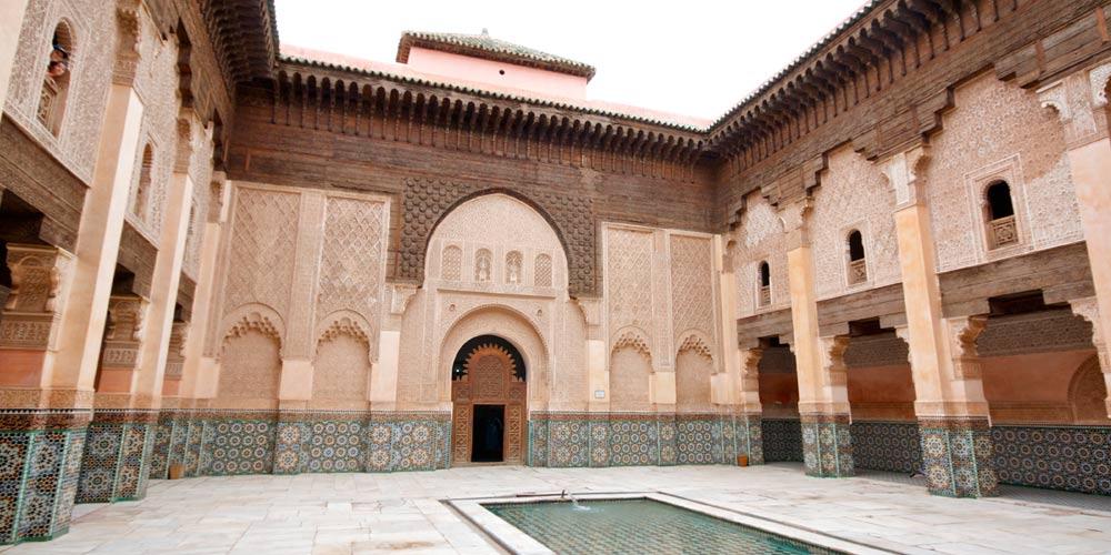 El Zoco de Marrakech: Madrasa Ben Youssef