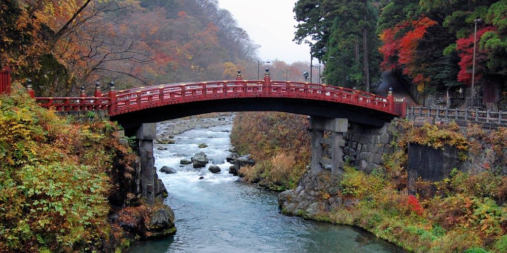 Excursión a Nikko desde Tokio: Puente Shinkyo