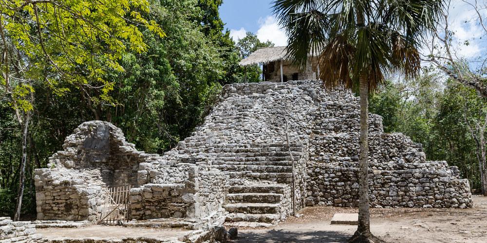 Coba riviera maya. El tiempo en septiembre